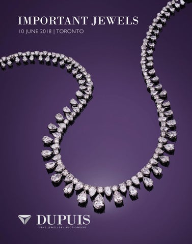 586313c5a Spring 2018 important Jewels Auction by Dupuis Auctioneers - issuu