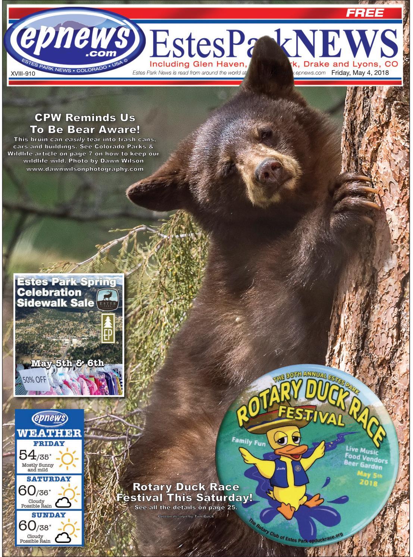 Estes Park News, May 4, 2018 by Estes Park News, Inc - issuu