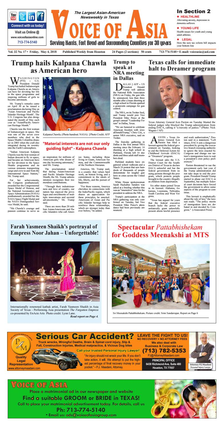 Voice of Asia E paper May 20, 20 by VoiceOf Asia   issuu
