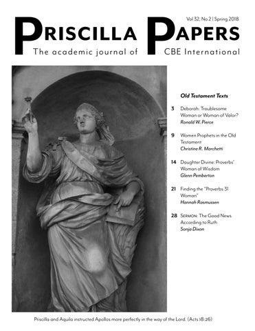 Priscilla Papers 322 Spring 2018 By Cbe International Issuu