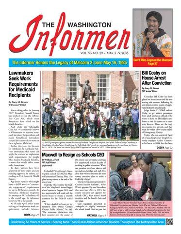 The Washington Informer - May 3 2018 by The Washington