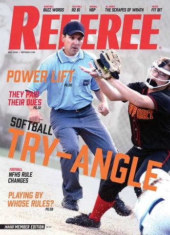 Referee Magazine May 2018 By Referee Magazine Issuu