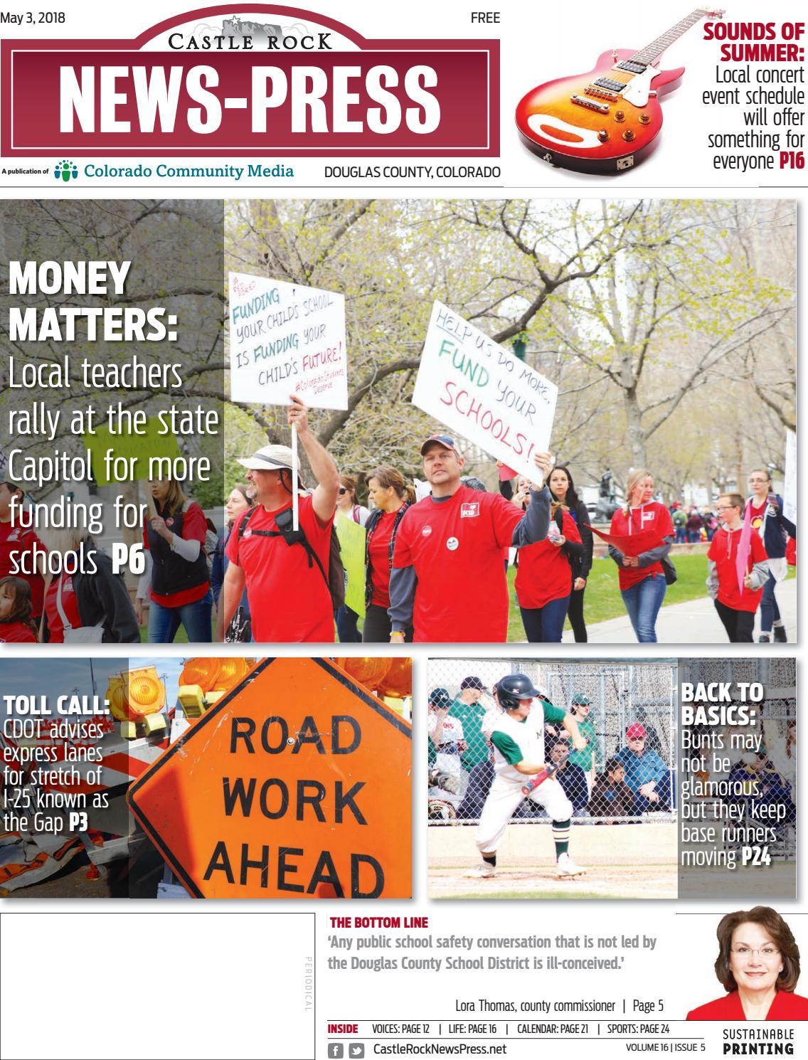 Castle Rock News Press 0503 By Colorado Community Media Issuu Rodeo Bundling 3 Maroon S