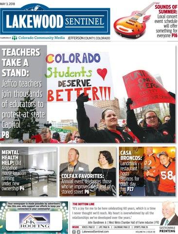 Lakewood Sentinel 0503 By Colorado Community Media Issuu