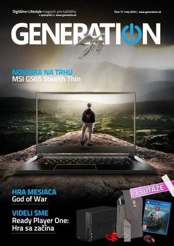 18f9f014d Generation magazín #077 by Generation magazine - issuu