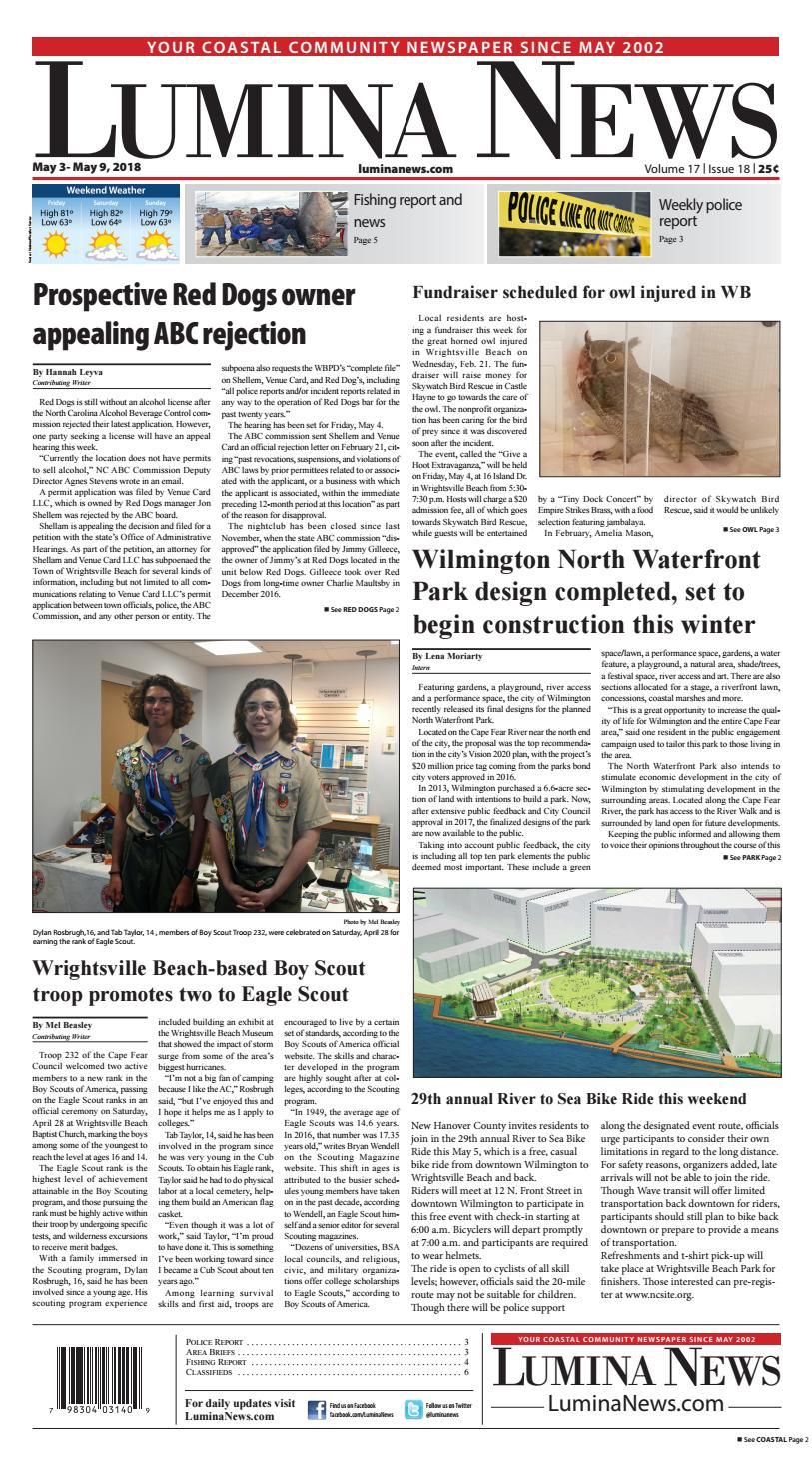 Lumina News May 3, 2018 by Lumina News - issuu