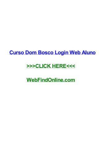 Curso Dom Bosco Login Web Aluno By Henryuznv Issuu