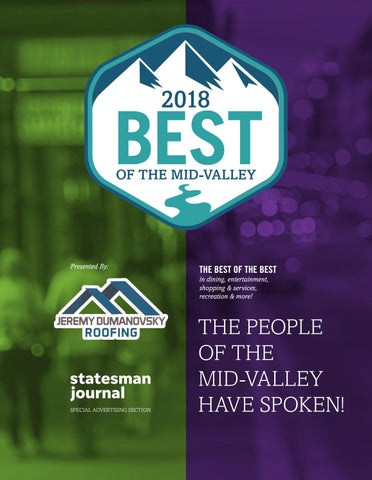 2018 Best of the Mid-Valley by Statesman Journal - issuu