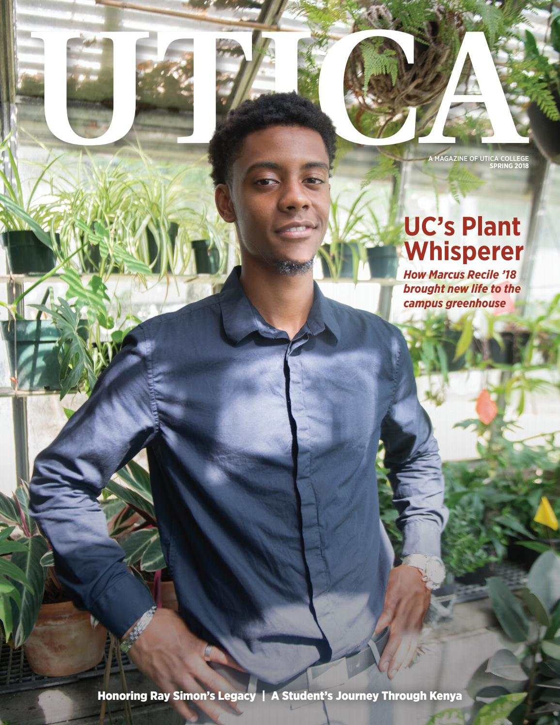 e6b1b967ae6d Utica Magazine - Spring 2018 by Utica College - issuu