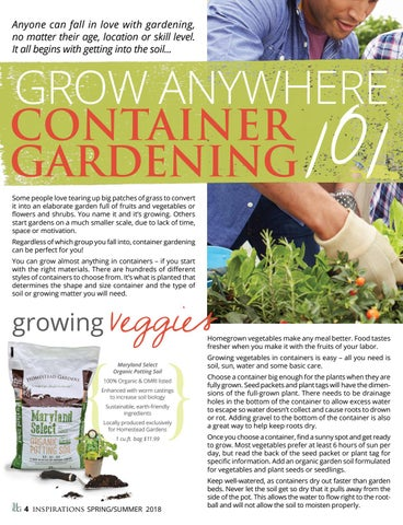 Page 6 of Grow Anywhere: Container Gardening 101