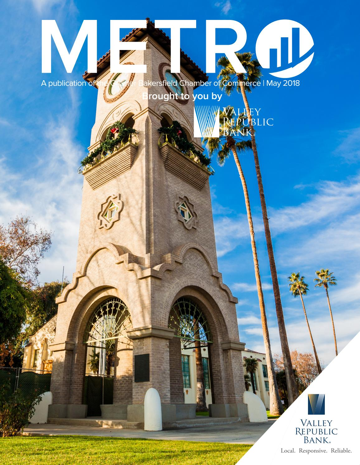 2018 May Metro By Greater Bakersfield Chamber Of Commerce