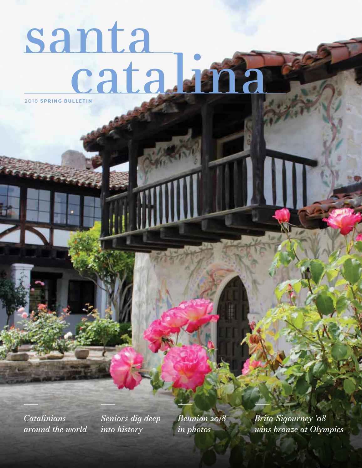 Santa Catalina School Bulletin Spring 2018 by santacatalina - issuu