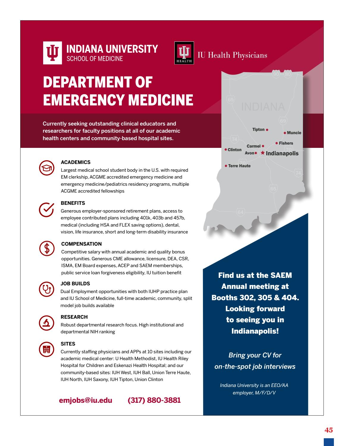 SAEM PULSE May–June 2018 by Society for Academic Emergency