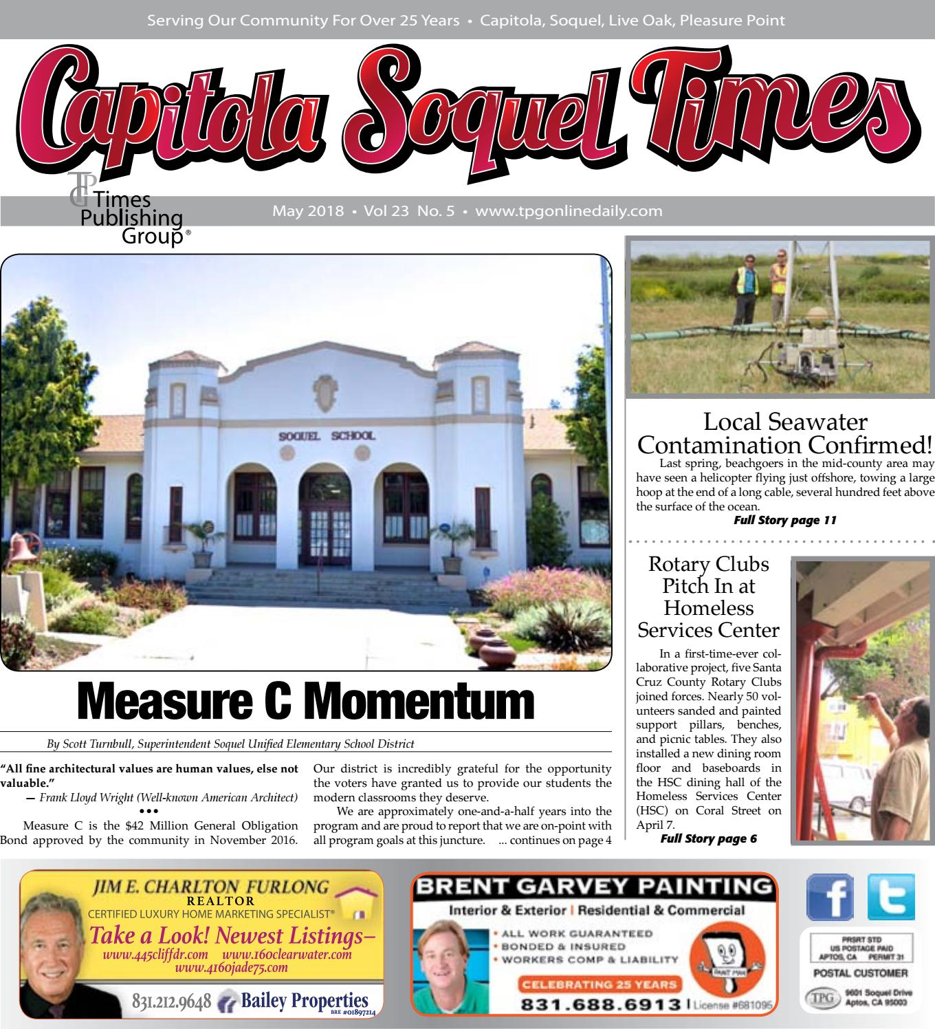 Casa & Co Milazzo capitola soquel times: may 2018 by times publishing group