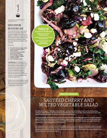 Page 60 of Sautéed Cherry and Wilted Vegetable Salad