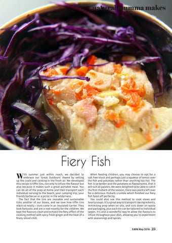 Page 25 of Natural Mumma Makes... Fiery Fish
