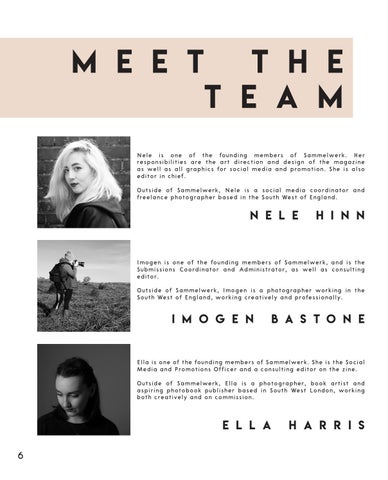 Page 6 of Meet the team