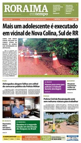 87dcbe47645 Jornal roraima em tempo – edição 924 by RoraimaEmTempo - issuu