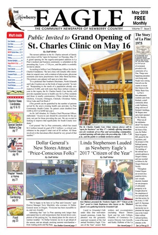 023d77958964 The Newberry Eagle Newspaper May 2018 by The Newberry Eagle and ...
