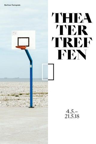 Theatertreffen 2018 Magazin By Berliner Festspiele Issuu
