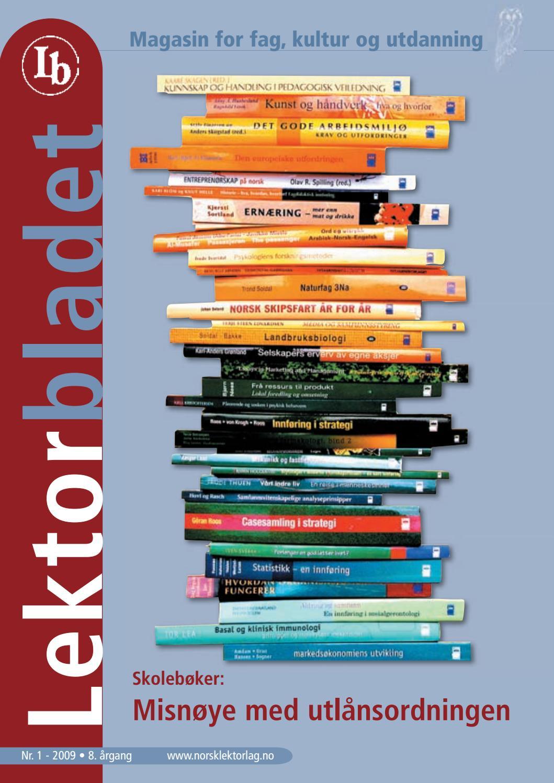 269ae05fa Lektorbladet #1 2009 by Lektorbladet - issuu
