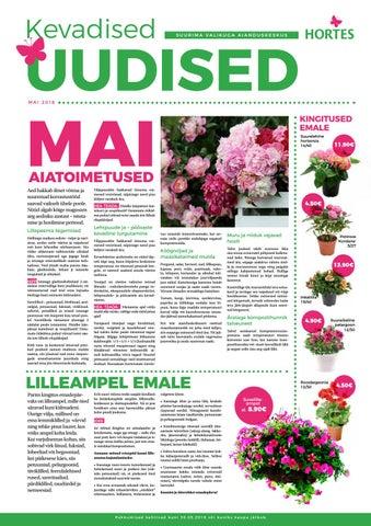 a85582d479e Emadepäev ja kaunis maikuu - Hortese ajaleht by Aianduskeskus Hortes ...