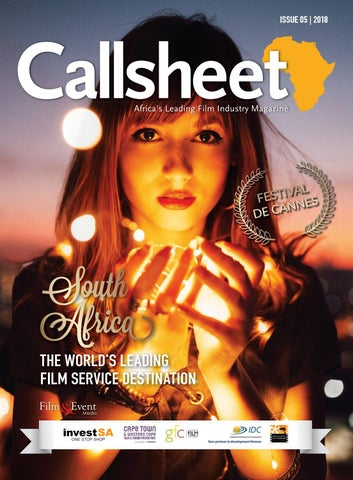 The Callsheet Issue 05 2018 by Film & Event Media - issuu