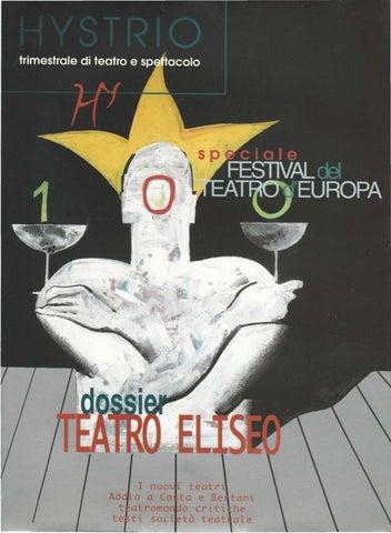 Hystrio 2000 1 gennaio-marzo by Hystrio - issuu f94a65ee064