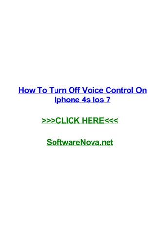 enable voice to text iphone 7