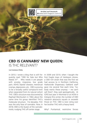 Page 109 of CBD is Cannabis' new Queen - Is THC relevant?