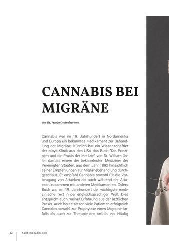 Page 12 of Cannabis bei Migräne