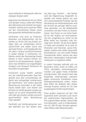 Page 169 of Hanf und Cannabis als Superfood
