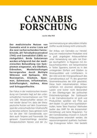 Page 17 of Cannabis Forschung
