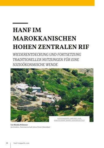 Page 38 of Hanf im marokkanischen hohen Zentralen RIF