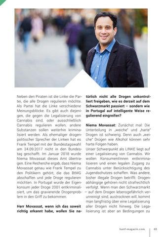 Page 65 of Niema Movassat - Die Linke zu Drogen