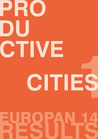 E14 Results Catalogue by Europan Europe - issuu