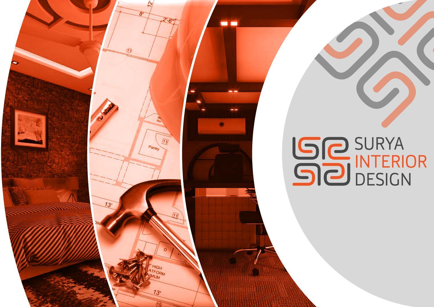 Surya Interior Designer Company Profile By Mediawavepk Issuu