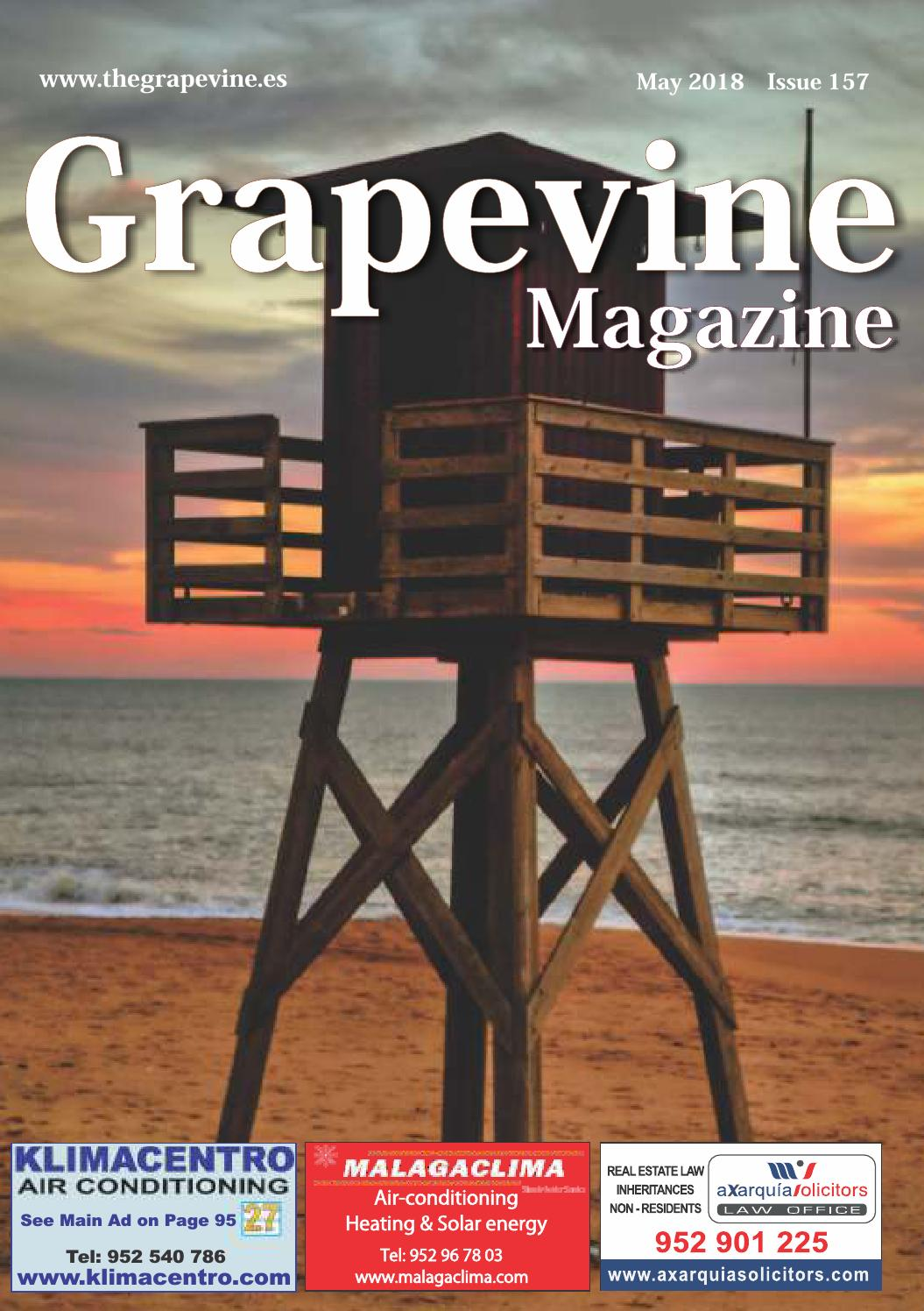 The Grapevine Magazine May 2018 By The Grapevine Magazine Issuu