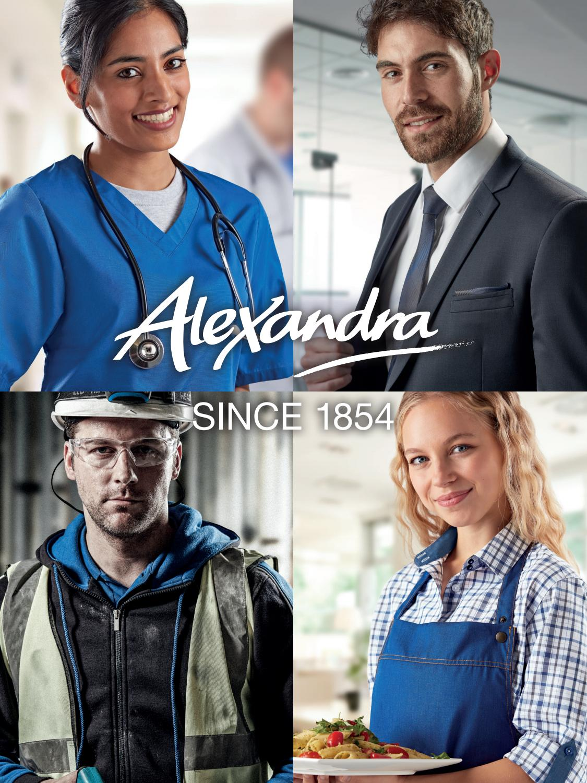 Alexandra Workwear HP298 Womens Healthcare Tunic Red 26