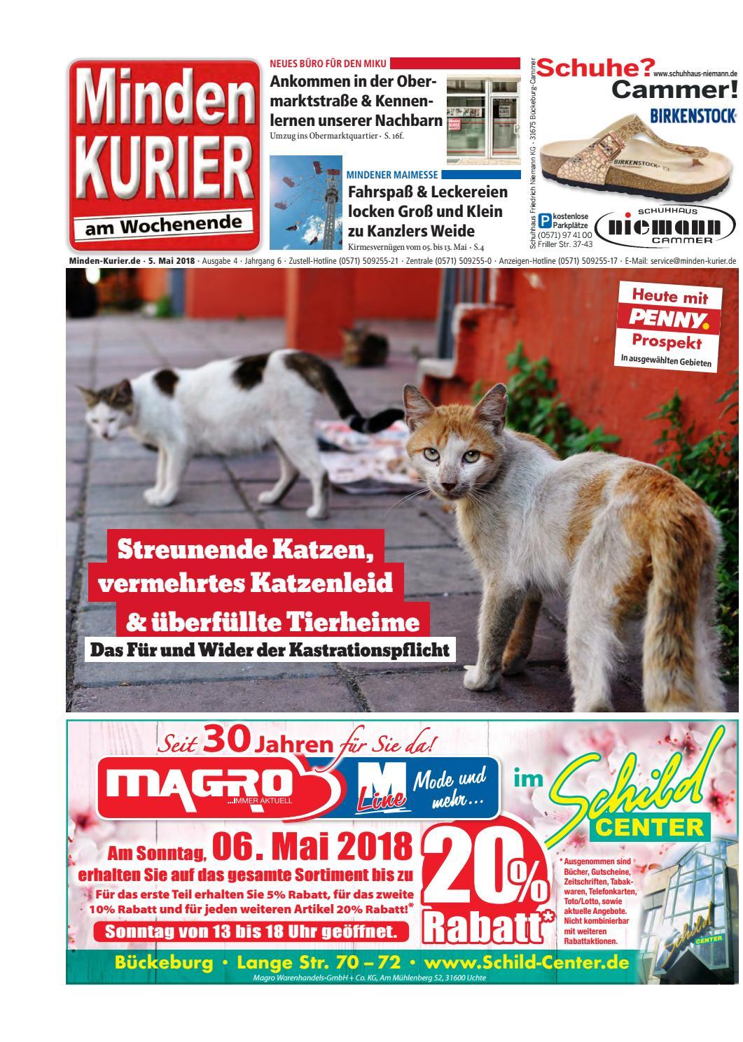 5. Mai 2018 – Das Für und Wider der Kastrationspflicht by Minden ...