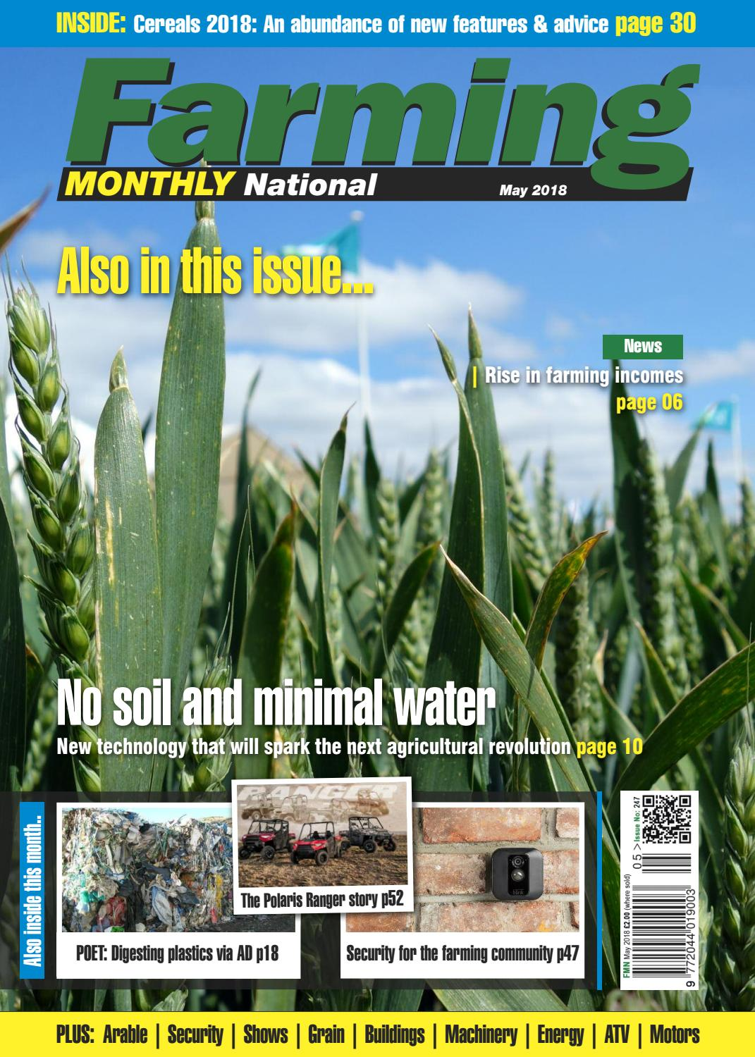 May 2018 Farming Monthly National by Farming Monthly Ltd - issuu