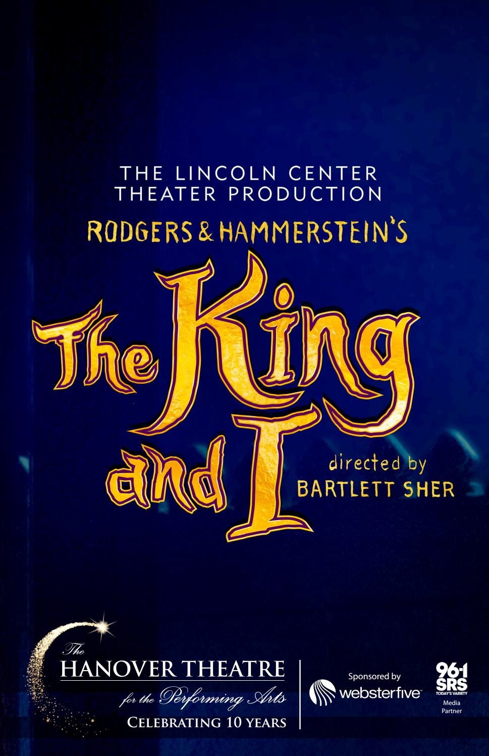 2017-2018 Broadway Program The King and I by TheHanoverTheatre - issuu