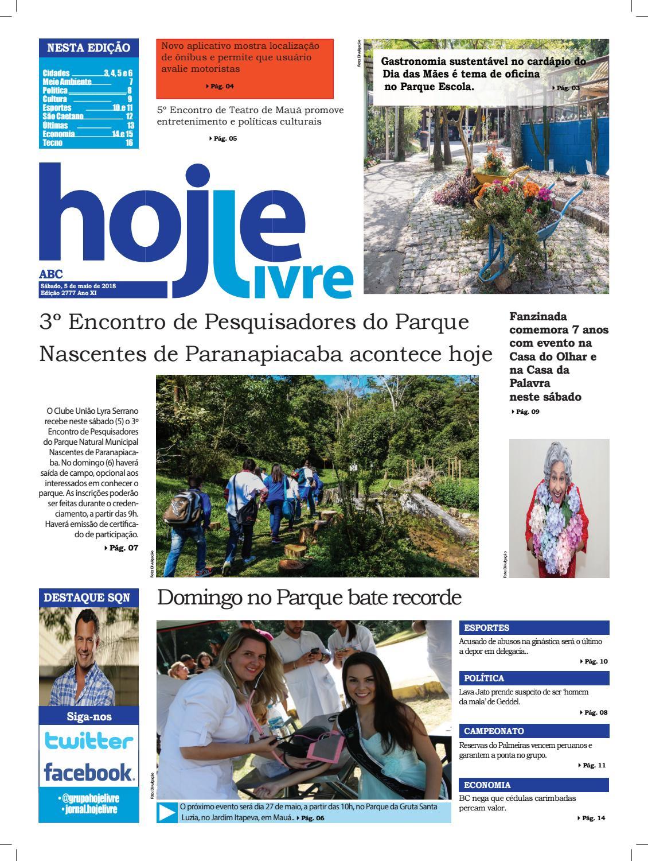 c9ff4ef4062f0 Hojelivre ed2777 050518 by Jornal Hoje Livre - issuu