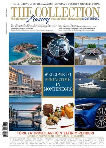 Porto Montenegro Karte.The Collection Montenegro Vol 21 By The Collection Montenegro Issuu