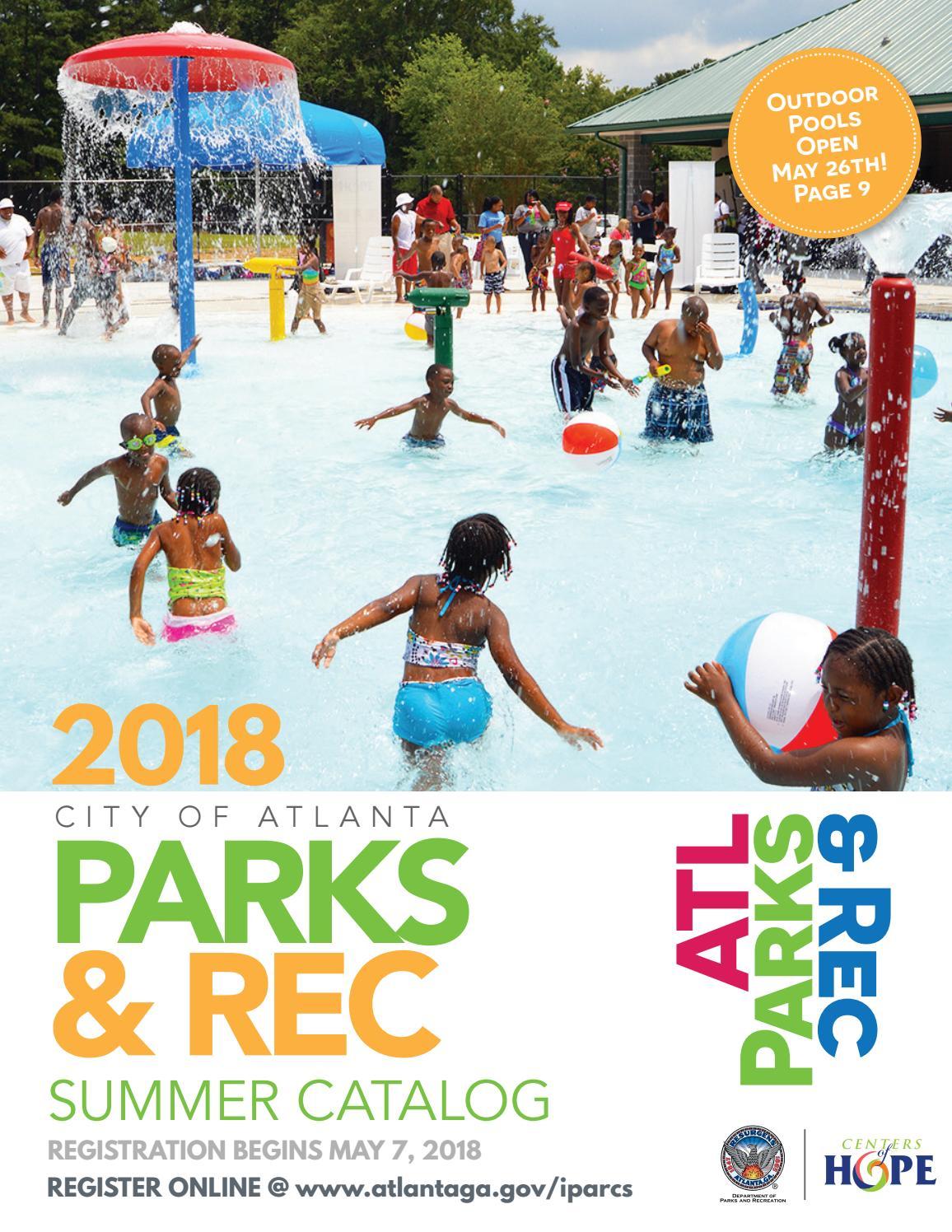 ATL Parks & Rec Summer 2018 by Atlanta DPR - issuu