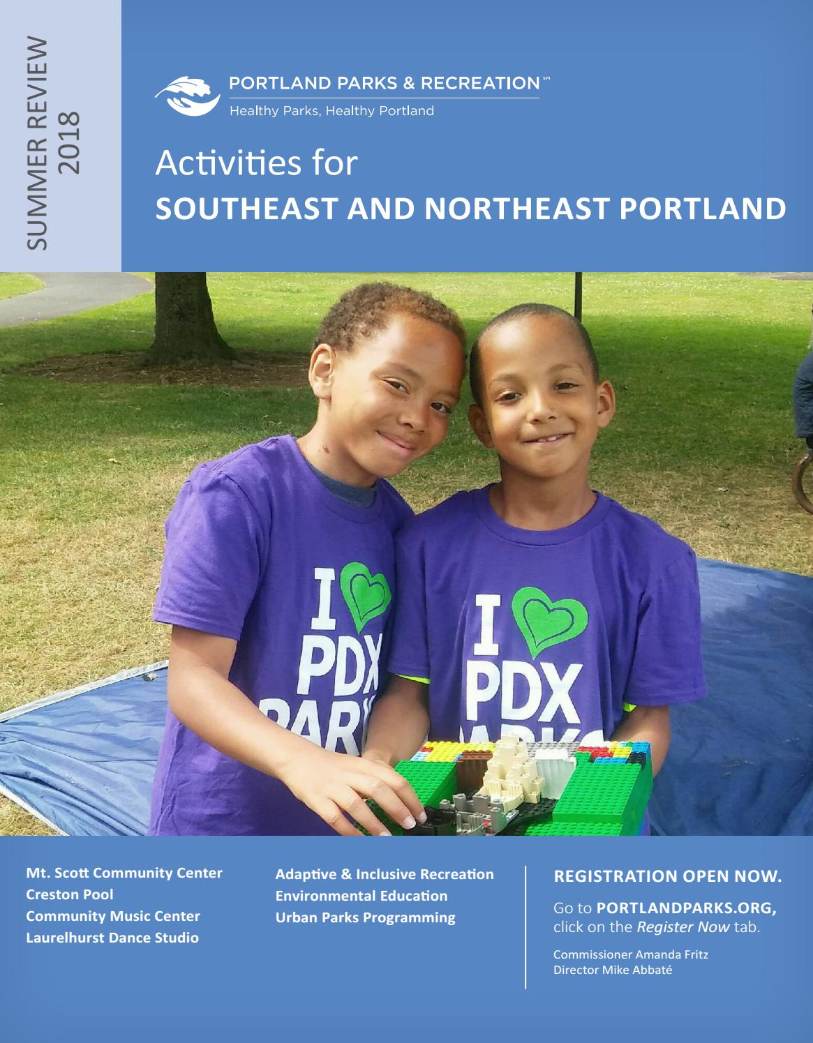 Mt Scott Community Center Summer Review 2018 By Portland Parks Hula Hoop Circuit Game A Circle Of Friends Try To Advance Hulu Recreation Issuu