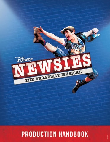 Newsies Production Handbook by Music Theatre International