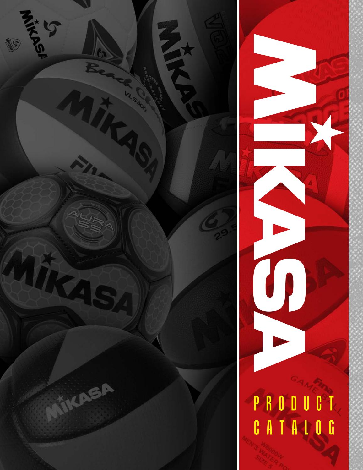 RED BLACK Mikasa Indoor Volleyball Red//White//Black Mikasa Sports USA VIP300-CAN