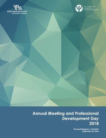 1ea632160e0 CAP and PAA Annual Meeting and Professional Development Day Brochure 2018