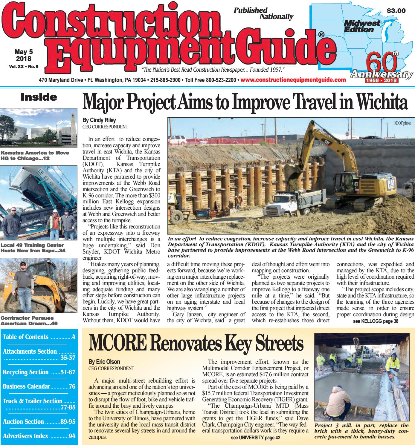 Midwest 9 May 5 2018 By Construction Equipment Guide Issuu Door Closure Wiring Diagram 279c Cat